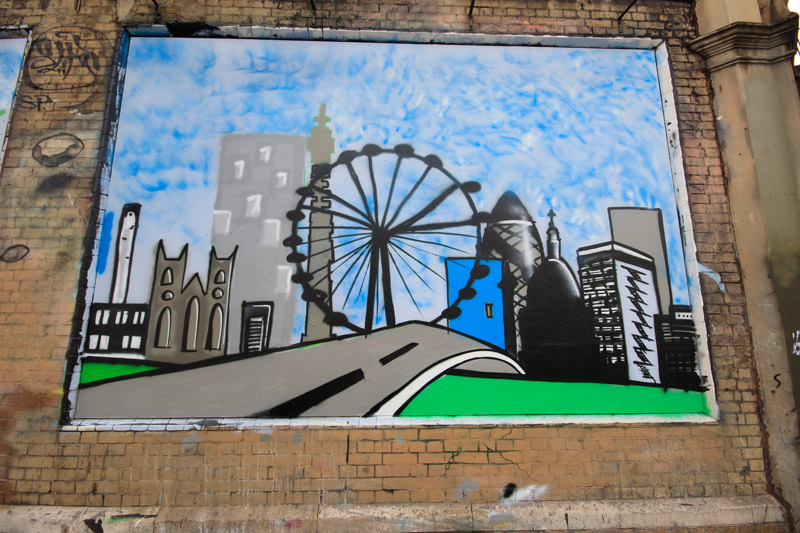The Princes Trust at The Shoreditch Art Wall #5