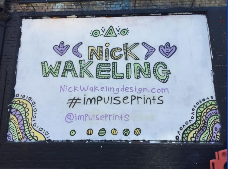 The Shoreditch Art Wall comes alive