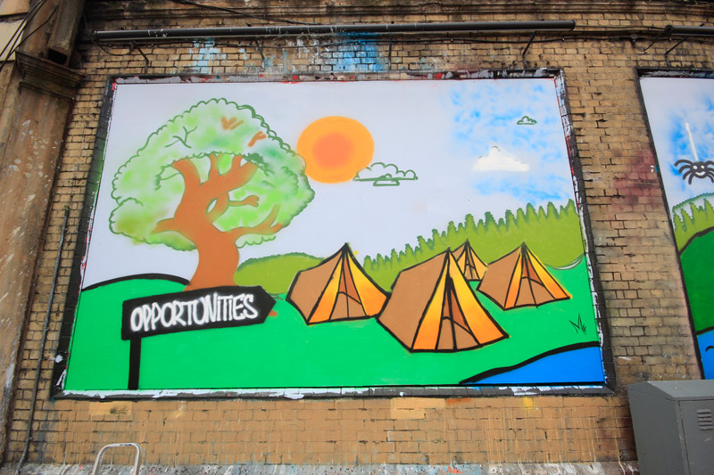 The Princes Trust at The Shoreditch Art Wall #6