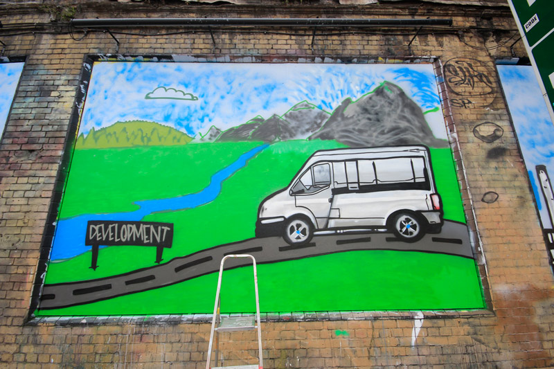 The Princes Trust at The Shoreditch Art Wall #7
