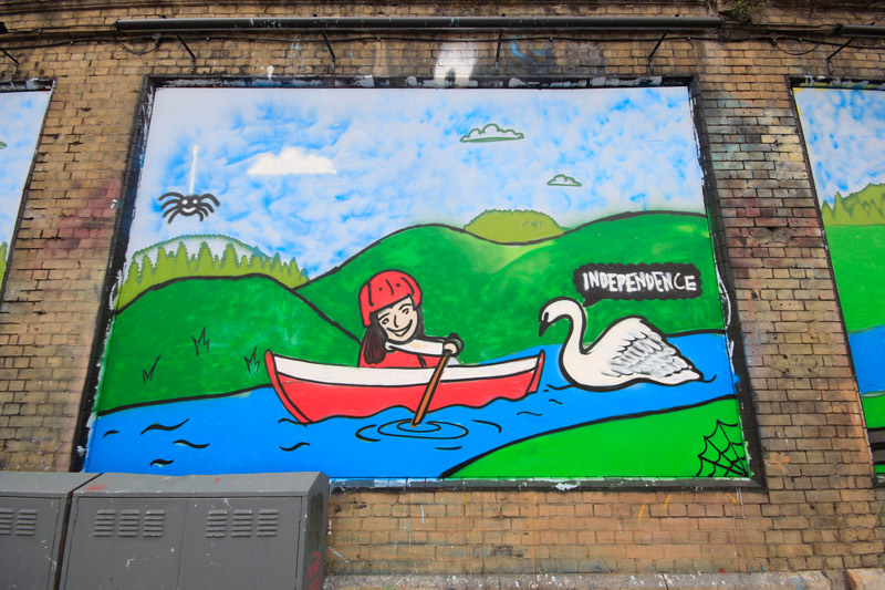 The Princes Trust at The Shoreditch Art Wall #8