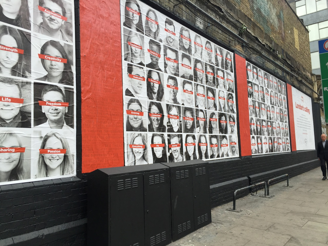 TodayTix App at the Shoreditch Art Wall