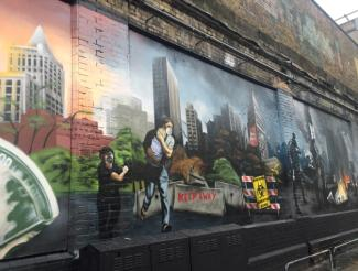 UbiSoft at the Shoreditch Art Wall